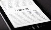 Research on tablet pc touchpad, ebook concept